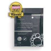 BeautyPro Detoxifying Foaming Cleansing Sheet Mask with Activated Char...