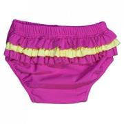 Baby badebukser fra Baby Banz - Pink Summer Frills