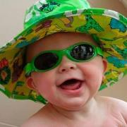 Solbrille - Baby Banz - Adventure - Æblegrøn