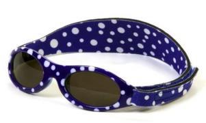 Solbriller fra Baby Banz - Blue Dot