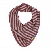 Savlesmæk fra Joha i uld-bomuld m. Red-grey stripe