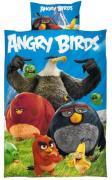 Angry Birds 2i1 Sengetøj (100 procent bomuld!)
