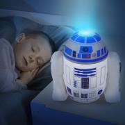 Star Wars R2D2 Godnat Bamse med lys
