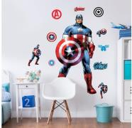 Captain America wallstickers