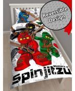 Lego Ninjago Kriger V2 Sengetøj 2i1 design