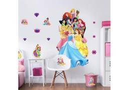 Disney Prinsesse Kæmpe Figur Wallsticker