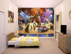 Cirkus tapet 243 x 305 cm