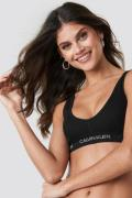 Calvin Klein Unlined Bralette - Black