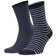 Tommy Hilfiger 2-pak Classic Small Stripe Socks * Gratis Fragt *