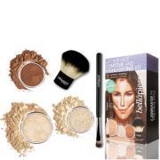 Bellapierre Cosmetics All Over Face Highlight & Contour Kit - Fair