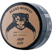 Hair Wax Clay Pomade,  Beard Monkey Hårvoks