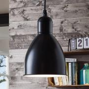 Priddy 1 hængelampe, 1 lyskilde, sort