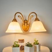 Antonio væglampe, med 2 lyskilder