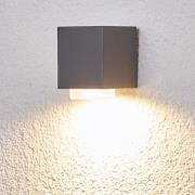 Jovan - udendørsvæglampe i mørkegrå