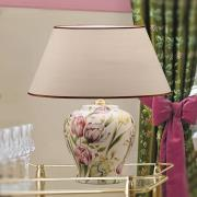 Living blomsterinspireret bordlampe