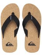 Quiksilver Molokai Abyss Natural Sandals sort