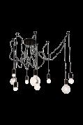 Spindelon Loftlampe Sort mat