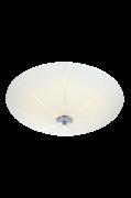 NAZCA Plafond Hvid/krom, 43 cm