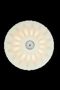 Plafond Petal LED 35 cm Hvid/Kromfarvet