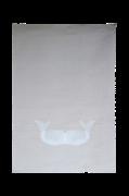 Håndprintet Poster Moby 50x70 cm