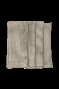 Hørservietter Stripe 2-pak