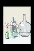 Plakat Glass bottles
