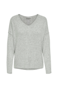 Trøje onlMaye LU L/S Button Pullover