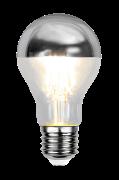 Pære E27 LED Topforspejlet Sølv 4 W