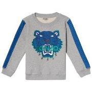 Kenzo Marl Grey Airtex Sweatshirt 2 years