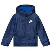 NIKE Navy Fleece Lined Jacket 2-3 years