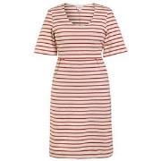 Boob Simone Short Sleeve Dress Tofu/Cardinal Red XS (32-34)