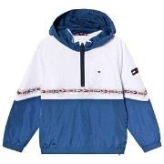 Tommy Hilfiger Color Block Hooded Jacket White 4 years