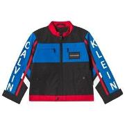Calvin Klein Jeans Black Color Block BMX Jacket 16 years
