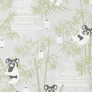 Majvillan Bambu Wallpaper Grey One Size