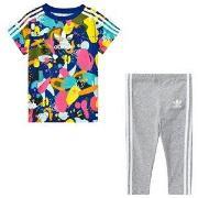 adidas Originals Baby Sæt med Multifarvet Superstar T-shirt og Bukser ...