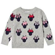 GAP Minnie Mouse™ Sweater Grey 12-18 mdr