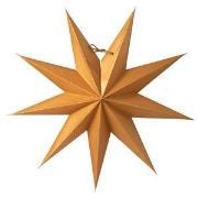 Watt & Veke Boris Adventsstjerne 50 cm Guld One Size