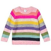 GAP Knitted Sweater Crazy Stripe 12-18 mdr