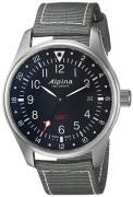 Alpina Startimer Herreur AL-247B4S6 Sort/Tekstil Ø42 mm