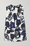Marni - Tie-detailed Floral-print Satin-jacquard Blouse - Blue