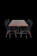 Spisegruppe Uno med 4 spisebordsstole Pippi