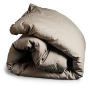 Dirty Linen-Triple X Duvet Cover 220x220 cm, Clay