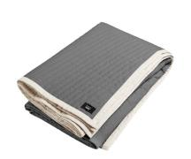 HAY Bias Quilt sengetæppe - Charcoal - Lille