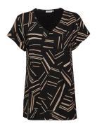 Digna T-shirt Top Sort Masai