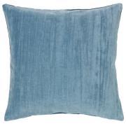 Hjalte pudebetræk 50x50 cm Blue mirage-blue night