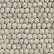 Peas uldtæppe 140x200 cm Soft grey