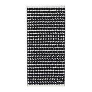 Räsymatto håndklæde sort Badehåndklæde 70 x 150 cm